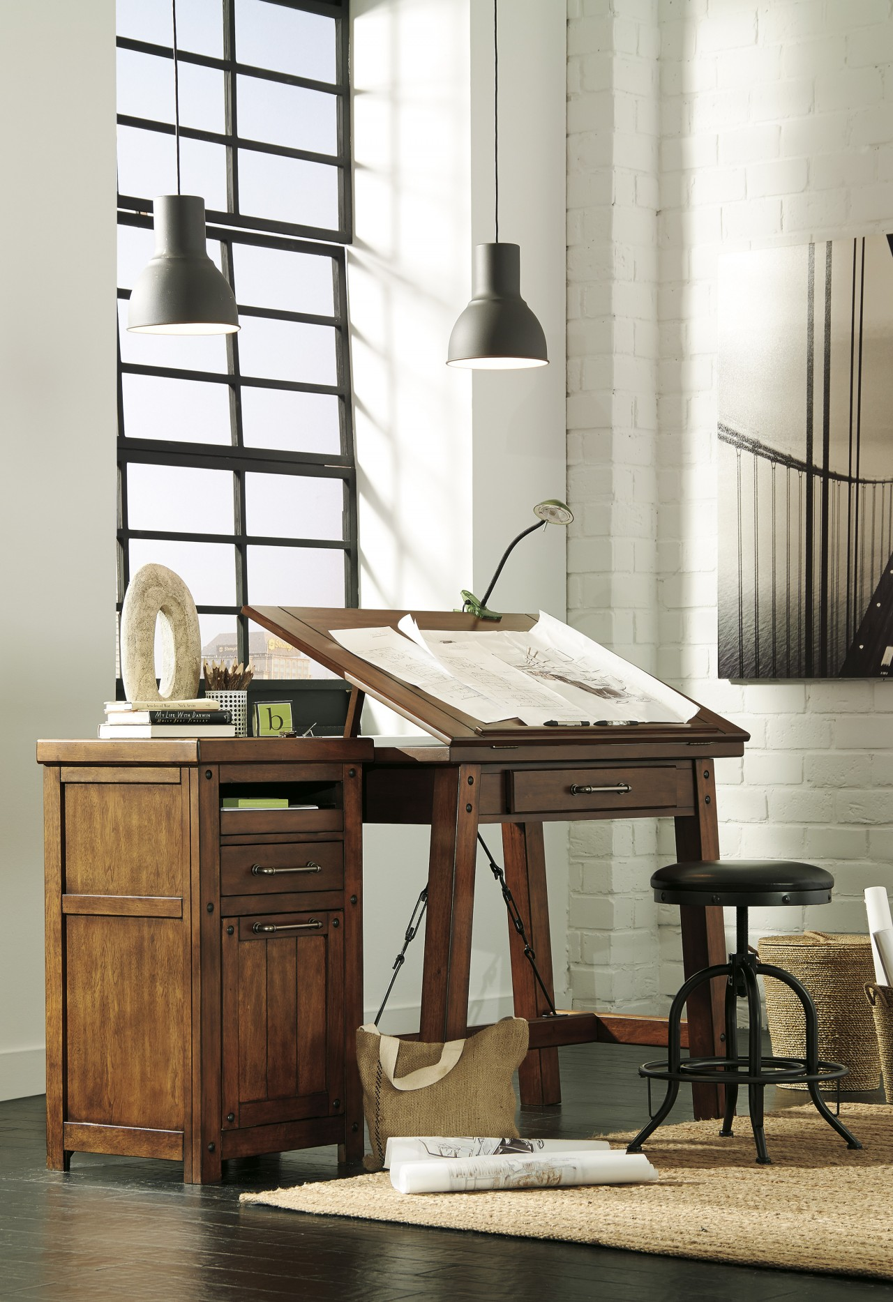 Add Vintage Charm To Your Home Office Ashley Furniture