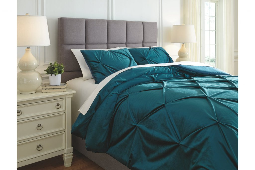 Meilyr 3-Piece King Comforter Set