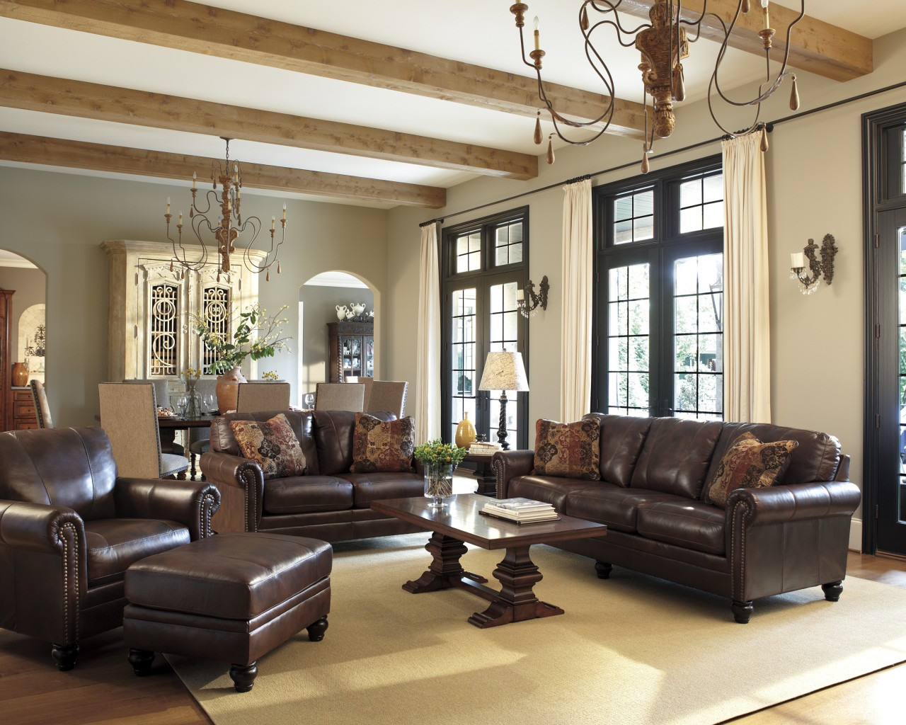 Tips For Decorating A Big Space Ashley Furniture Homestore