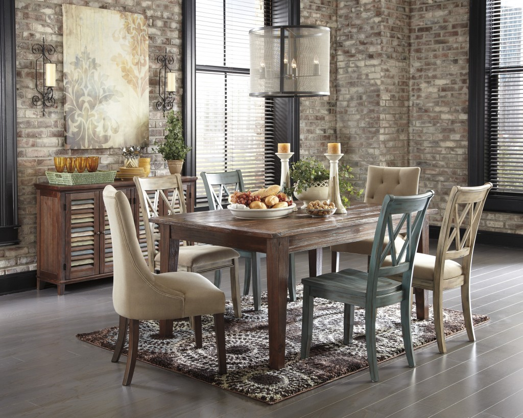 Spicing It Up In The Dining Room Ashley Furniture Homestore