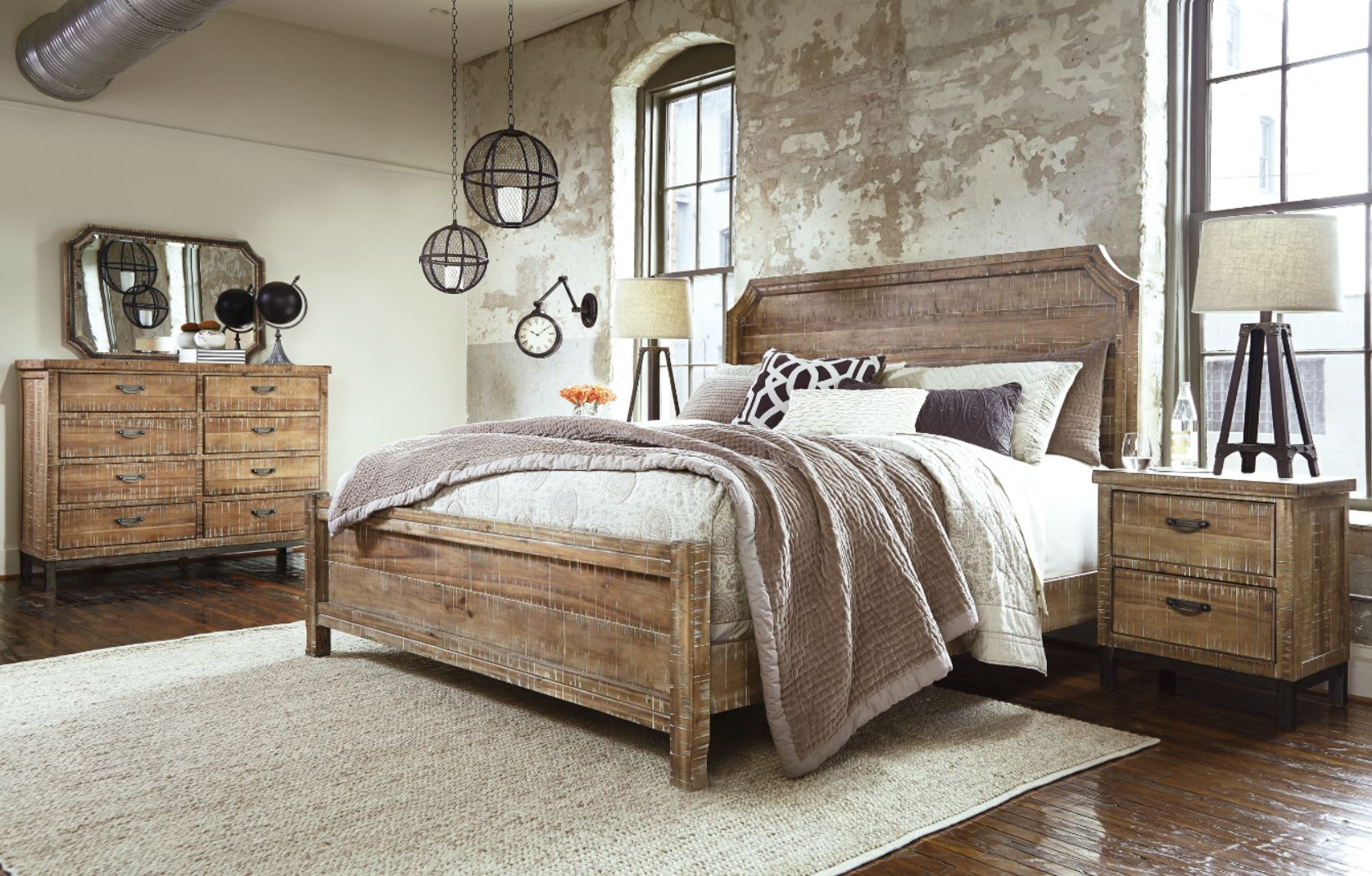 style file san francisco rustic furniture creates reclaimed retreat. Black Bedroom Furniture Sets. Home Design Ideas