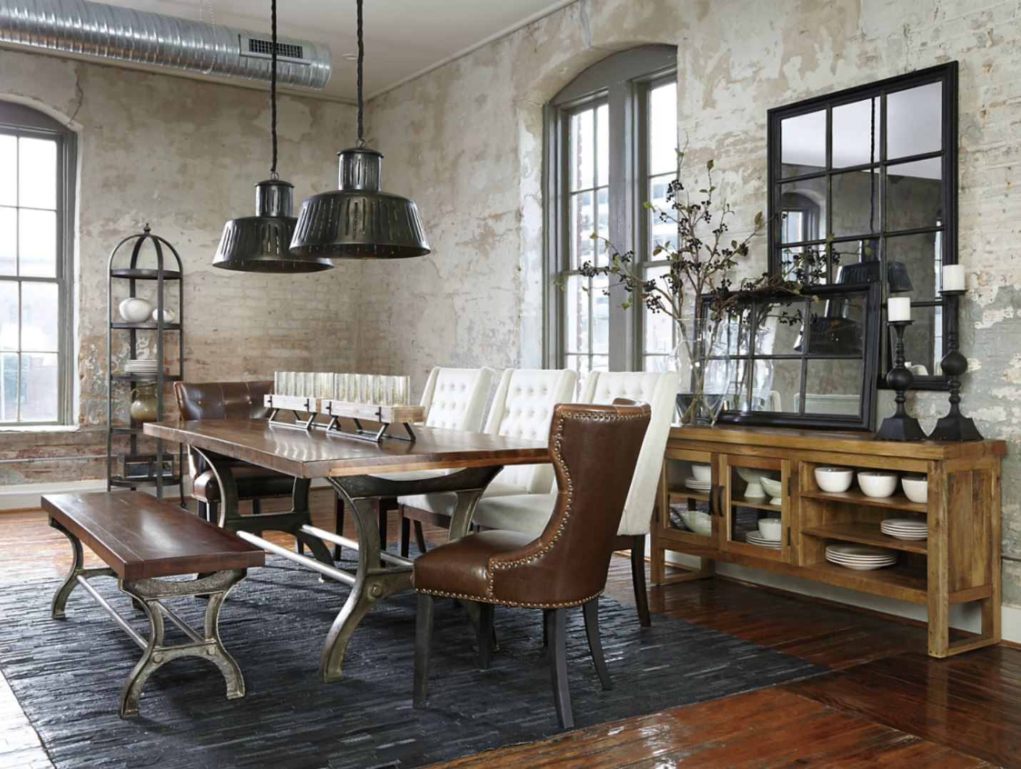 Style File: New York\'s Chic Industrial Design