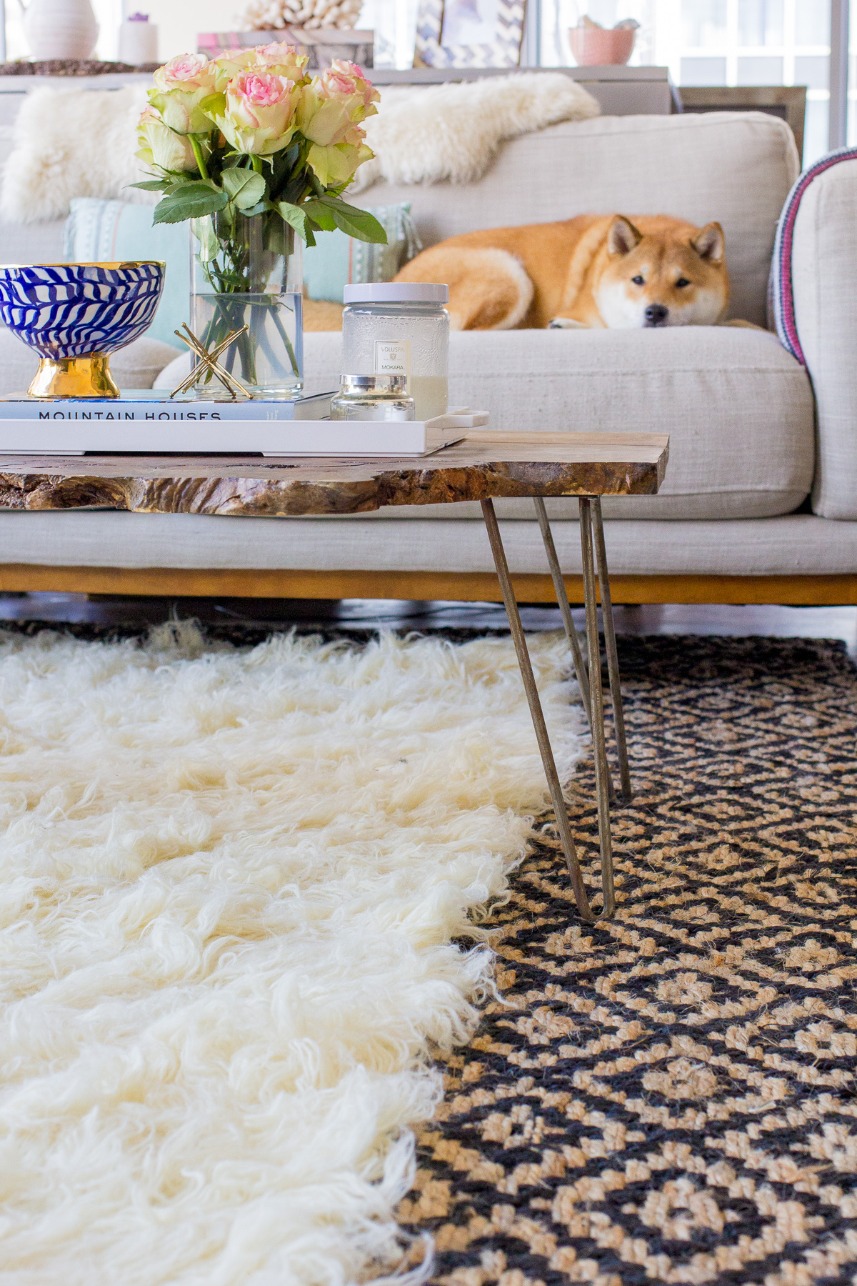 layer rug