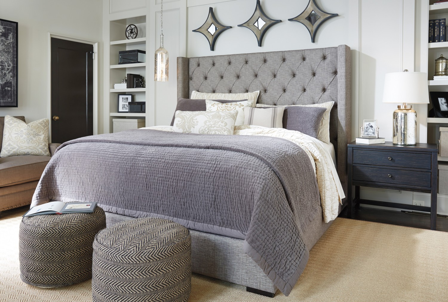 ashley furniture homestore bedroom sets. Poufs  Benches Ottomans Three Pieces that Serve Double Duty Ashley Furniture