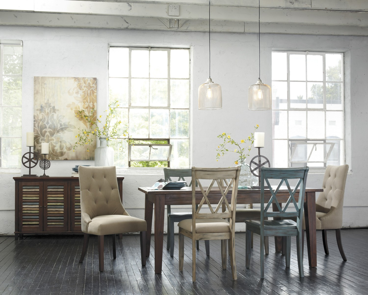 Matching Living Room And Dining Room Furniture Dining Room Chairs How To Mix And Match Ashley Furniture