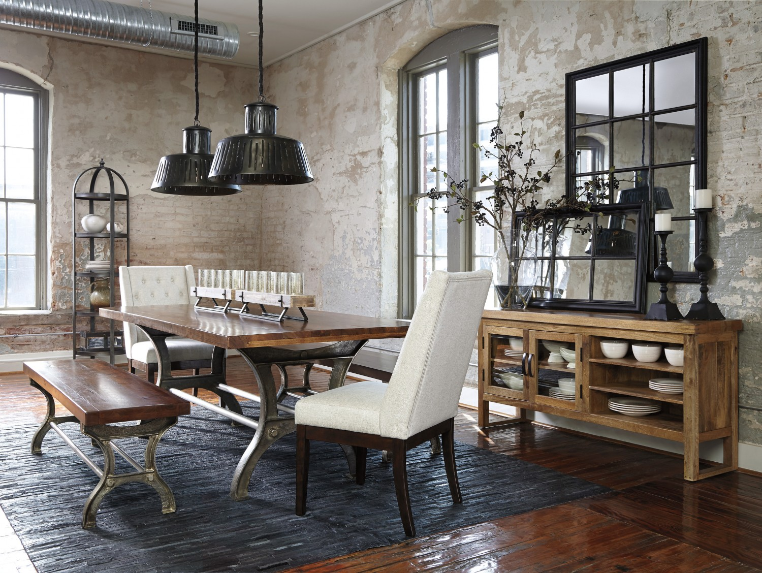 dining room chairs how to mix and match ashley furniture. Black Bedroom Furniture Sets. Home Design Ideas