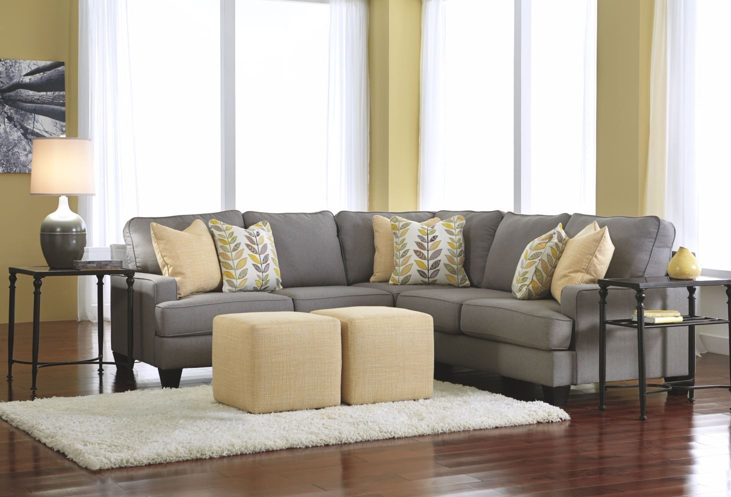 slider ashley sofas furniture queen gray nuvella sectional kurwin by sleeper sofa