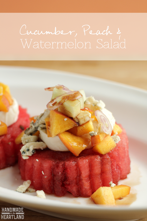 Cucumber-Peach-Watermelon-Salad