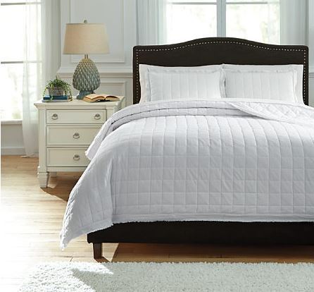 Amare Coverlet and Sham Set