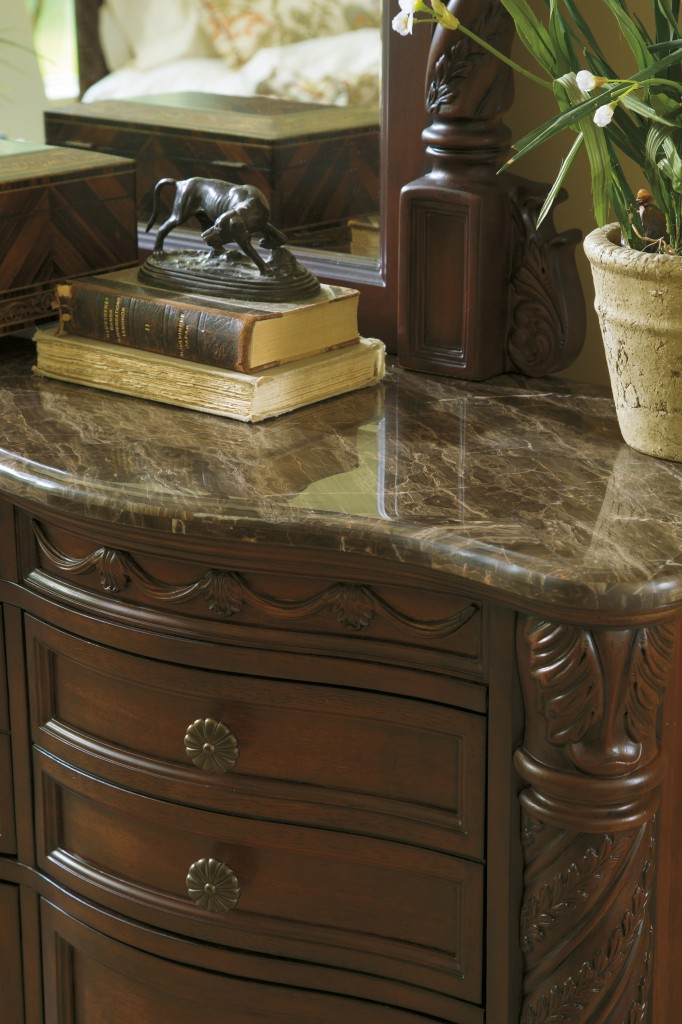 North Shore dresser marble top