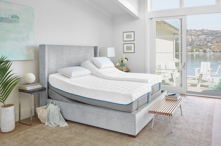 Tempur pedic mattresses with personal sides to choose the level of comfort for you