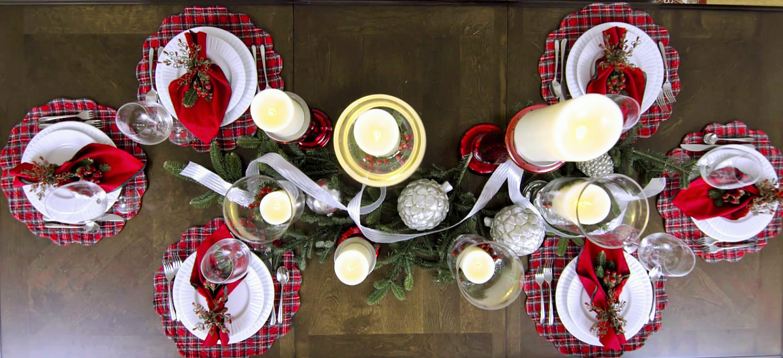 Comment cr er une d coration de table des f tes blogue - Comment faire une decoration de table ...