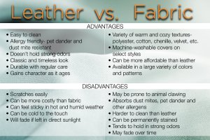 Leather vs. Fabric