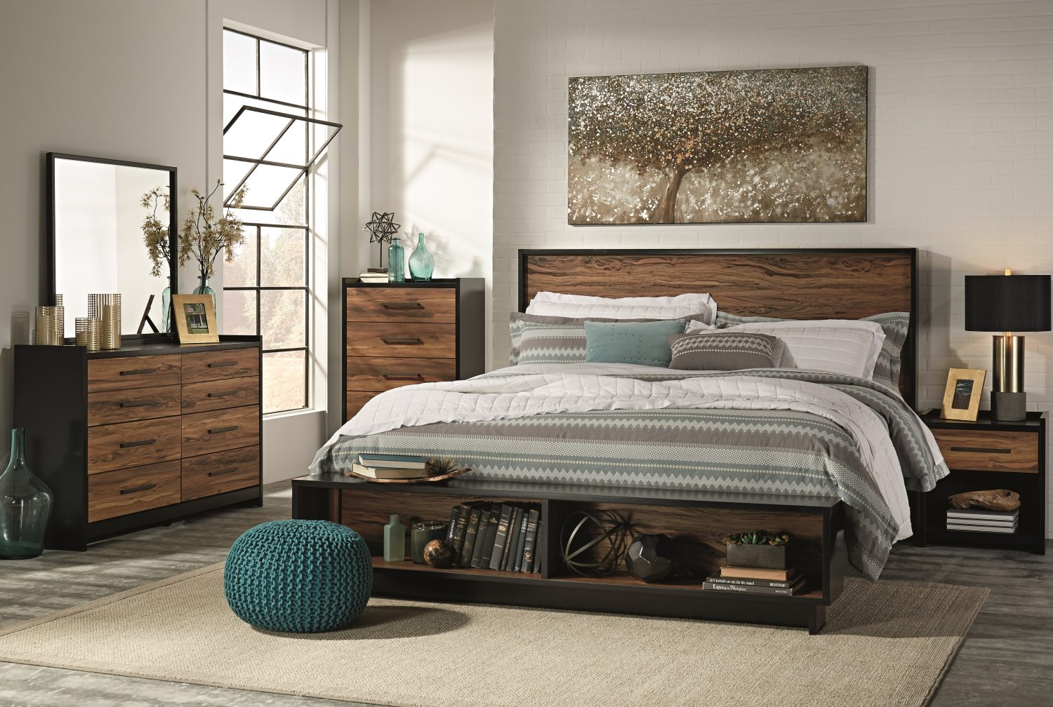 how to create the ultimate earthy bedroom ashley homestore