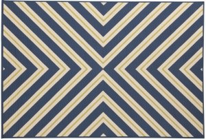 contemporary blue, green and whtie rug