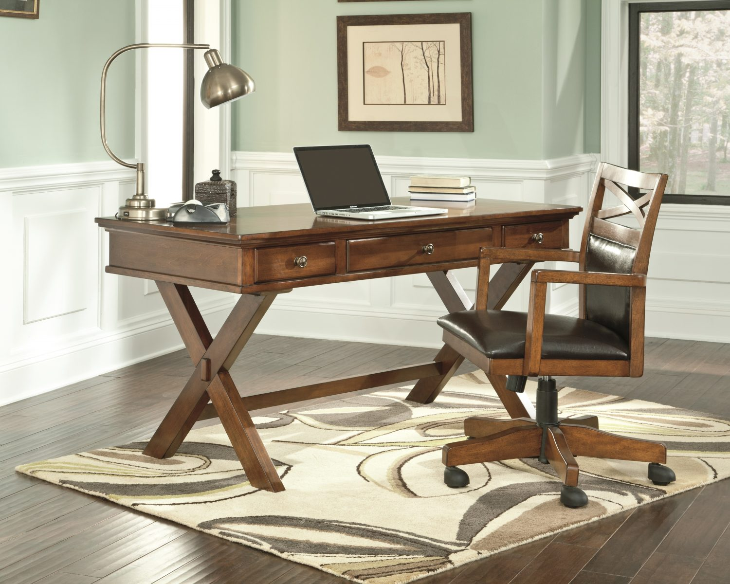 Space-Saving Home Office Desks | Ashley Furniture HomeStore