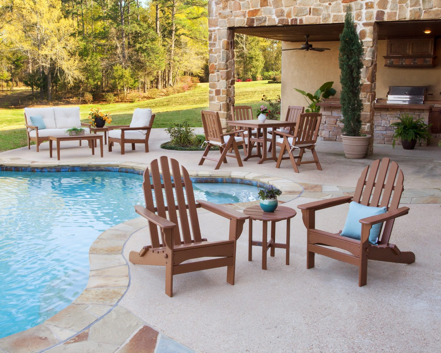 Out Is In Outdoor Living Space Essentials Ashley Furniture Homestore