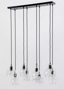light multi glass pendant light