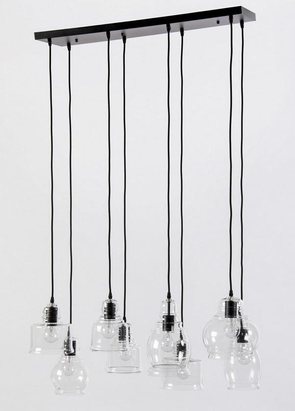 light multi glass pendant light