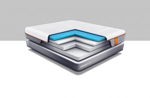 tempur breeze mattress outline