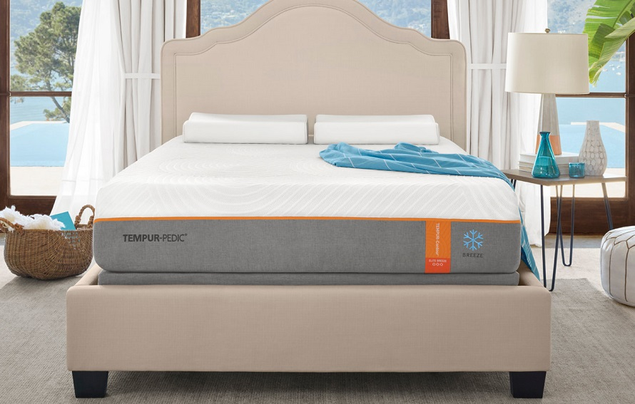 tempur-pedic contour breeze bedroom