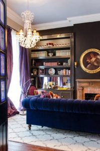 Maximalist style design located in a home in new Orleans french quarter