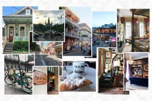 French Quarter Mood Board