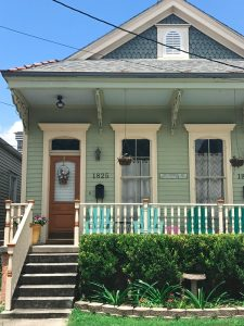 Small house found in new orleans with intricate details