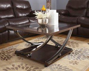 brown modern coffee table