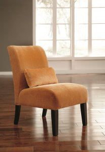 The Orange Annora Chair Puts an Accent on Fresh