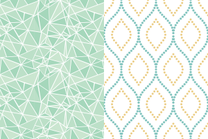 Retro wallpaper designs
