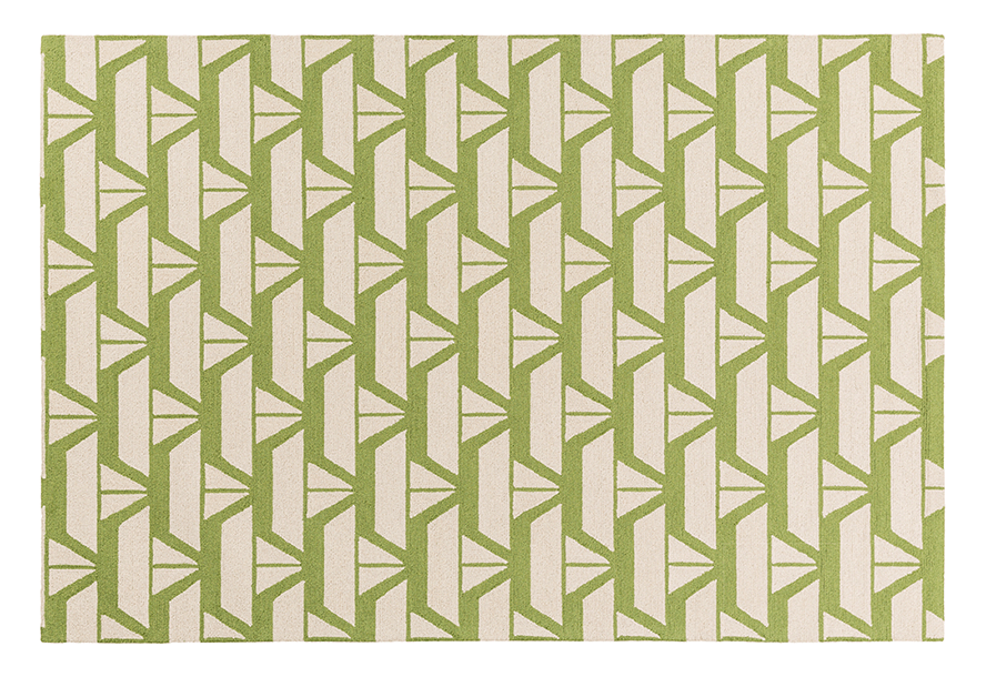 green sailboat area rug for little boys room.