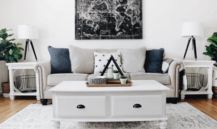 A Clean Prism Life Living Room Makeover X 2