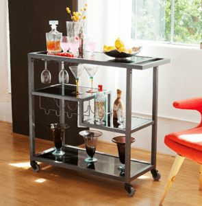 SEI Zephs Bar Cart