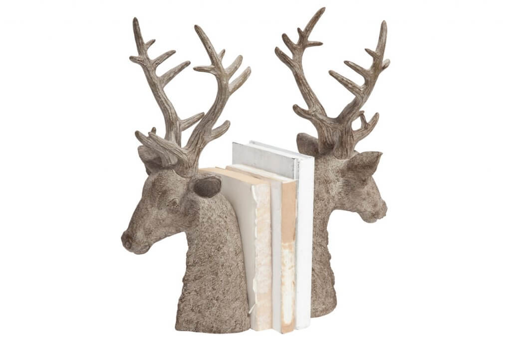 bookends shaped as deer