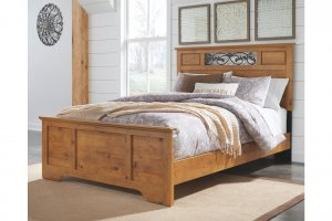 wooden furniture in bedroom