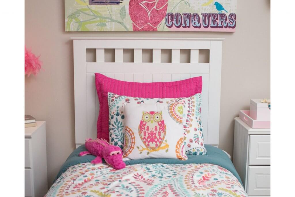 colorful twin bed set