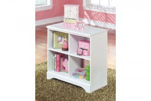 white storage bin with pink toys