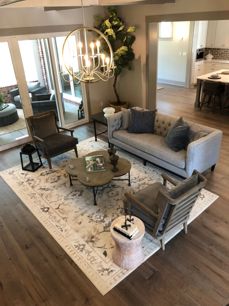 Ashley HomeStore living room for the St. Jude Dream Home Giveaway