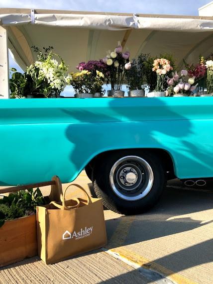 Flower truck.